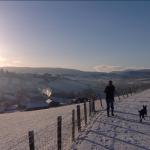 Enjoy snowy walks